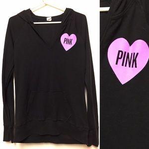 Victoria's Secret Pink hoodie sleep Thermal